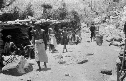 View of Bani Malik tribesmen ...