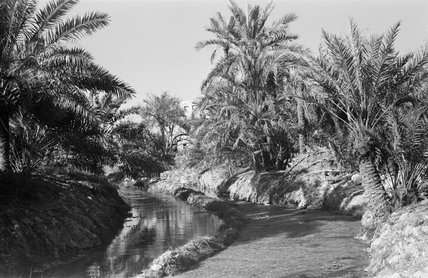 View of water channels at ...