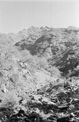 View of mountainous landscape in ...