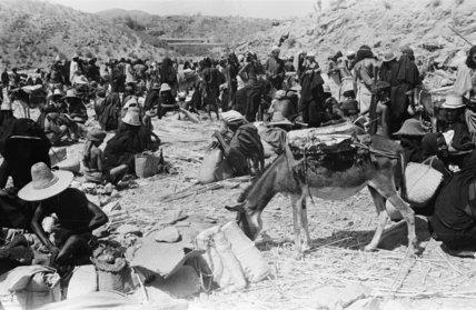 View of Khawlan Bedouin at ...