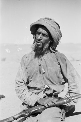 Seated portrait of Salim bin ...