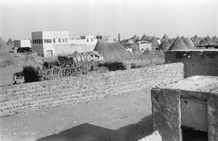 View of the town of ...