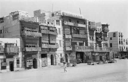 A street in Jeddah. A ...