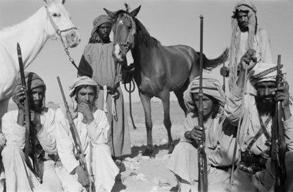 Group portrait of six villagers ...