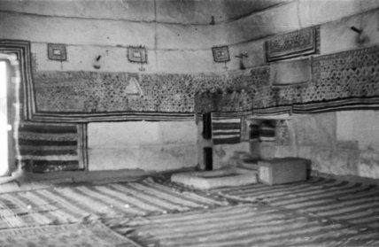 View of an interior room ...