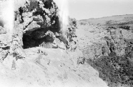 View of a mountain dwelling ...