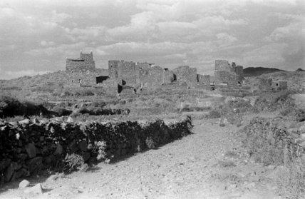 View of a settlement near ...