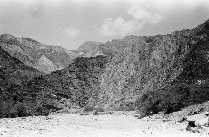 Landscape in the Wadi ad ...