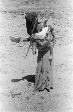 Standing portrait of an Arab ...