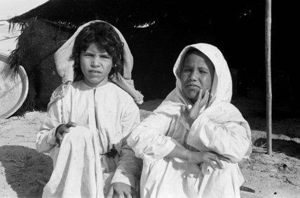 Portrait of two Sahul Bedouin ...
