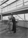 Quartermaster onboard MOOLTAN