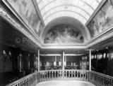Interior gallery onboard MALOJA