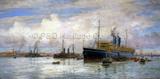 MALWA anchored at Kronstadt