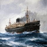 BARRABOOL in heavy seas