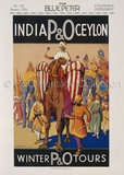 P&O India & Ceylon Advert, 1934