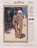P&O India Advert, 1925