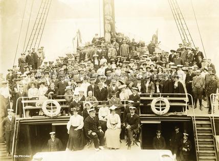 Passengers onboard CEYLON