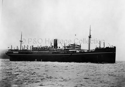 BALLARAT on sea trials
