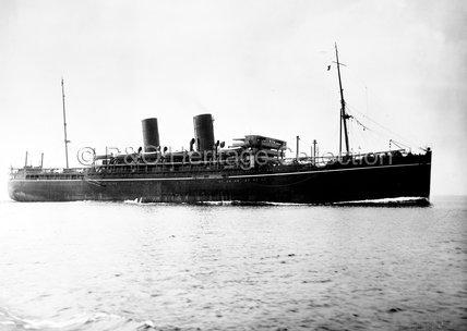 CATHAY at sea