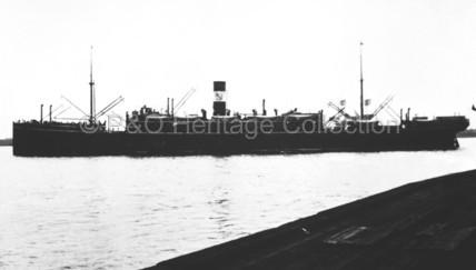 BALLARAT in port