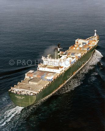 CARDIGAN BAY at sea