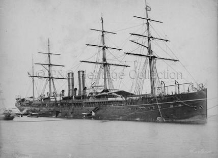 CARTHAGE at anchor