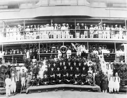 Crew onboard DELTA