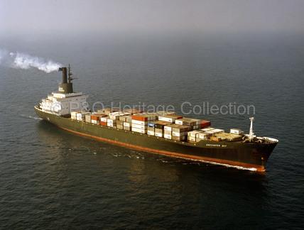 ENCOUNTER BAY at sea