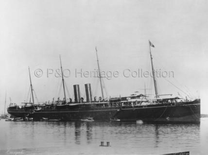 HIMALAYA in harbour
