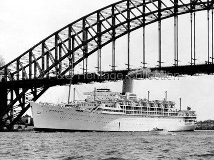 HIMALAYA arriving in Sydney, Australia