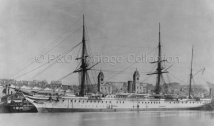 HIMALAYA as Royal Navy Troopship