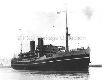 COMORIN leaving port