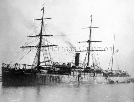 KAISAR-I-HIND at anchor