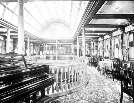 The Music Room on board MOLDAVIA