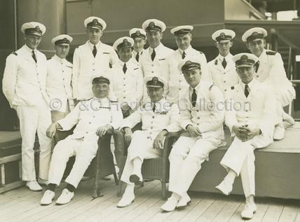 Officers onboard MALOJA