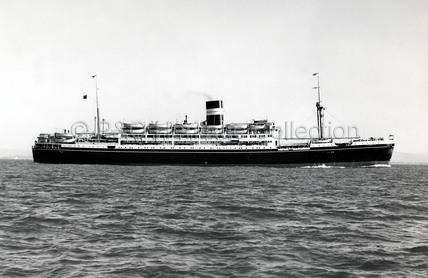 KAMPALA at sea