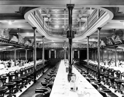Dining Saloon onboard MEDINA