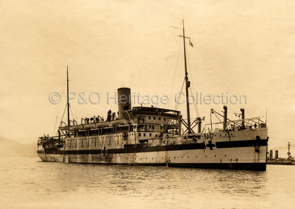 KARAPARA as a hospital ship