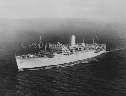 IBERIA at sea