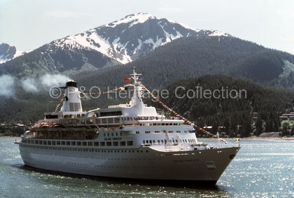 ISLAND PRINCESS off Alaska