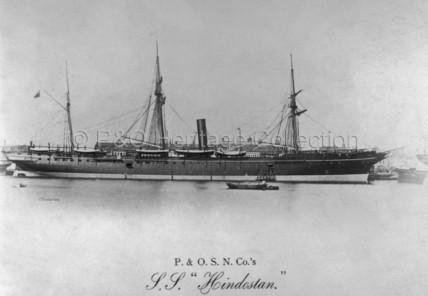 HINDOSTAN at Southampton