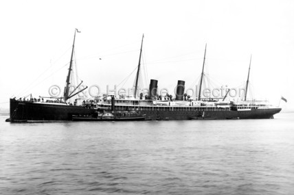 ORMUZ at anchor