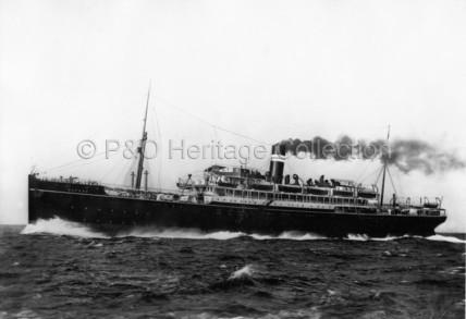 NEVASA at sea