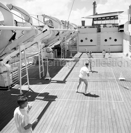Deck games onboard ORCADES