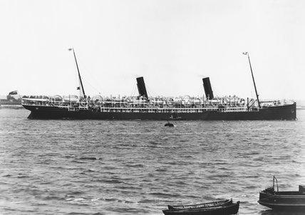 OPHIR in Thames Estuary