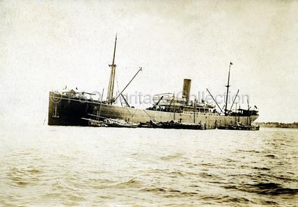 PERA at anchor