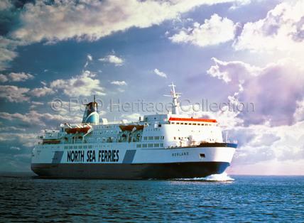 NORLAND at sea