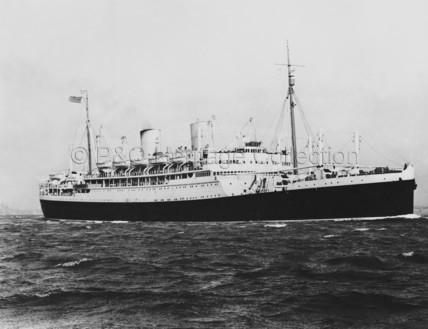 RANGITATA at sea