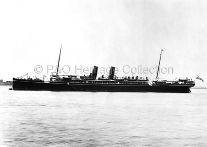 PERSIA anchored in the Thames
