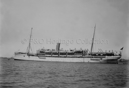 PLASSY as a troopship